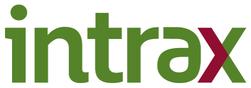 Logo for intrax